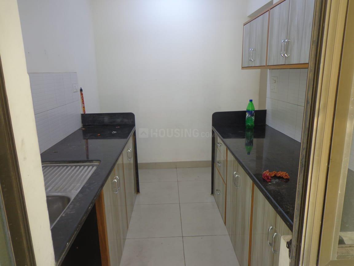 Kitchen Image of 705 Sq.ft 2 BHK Apartment for rent in Kalyan West for 15000