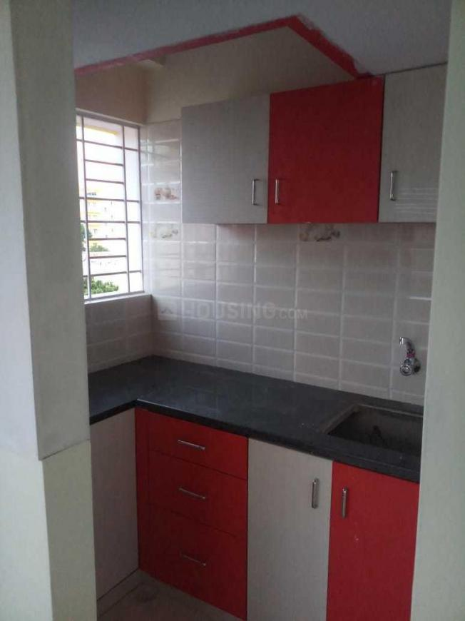 Kitchen Image of 350 Sq.ft 1 BHK Apartment for rent in Rayasandra for 11000