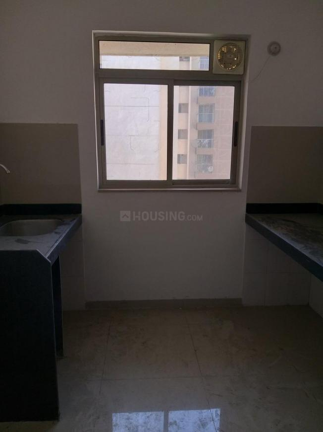Kitchen Image of 693 Sq.ft 1 BHK Apartment for rent in Palava Phase 1 Nilje Gaon for 9500
