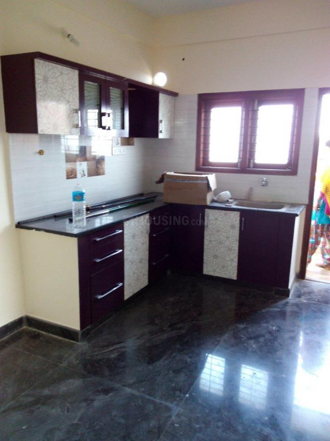 Kitchen Image of 1200 Sq.ft 2 BHK Independent Floor for rent in Vijayanagar for 17000