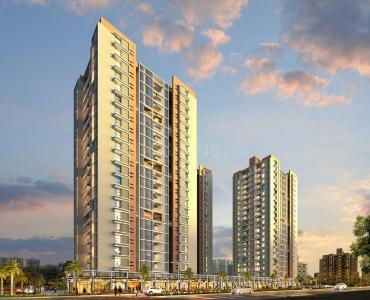 Gallery Cover Image of 1000 Sq.ft 2 BHK Apartment for buy in Pyramid Atlante, Tathawade for 6200000