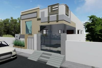 Gallery Cover Image of 1200 Sq.ft 2 BHK Independent House for buy in Bank Colony for 5350000