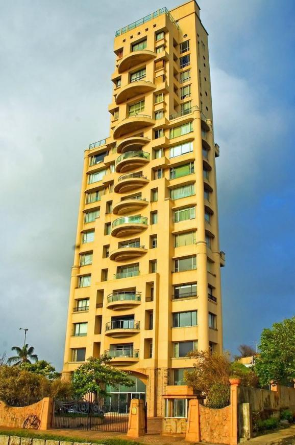 Building Image of 4000 Sq.ft 4 BHK Apartment for rent in Worli for 550000