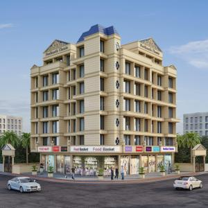 Gallery Cover Image of 780 Sq.ft 1 BHK Apartment for buy in Kharghar for 5460000