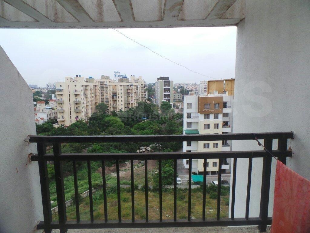 Living Room Image of 1050 Sq.ft 2 BHK Apartment for rent in Hadapsar for 15500