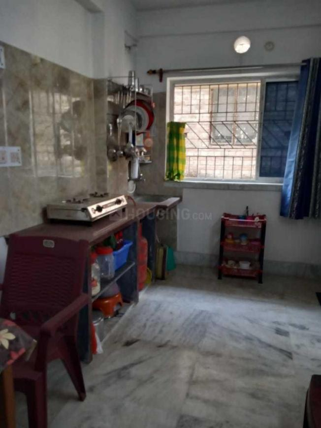 Kitchen Image of 500 Sq.ft 1 BHK Independent House for rent in Garia for 7000