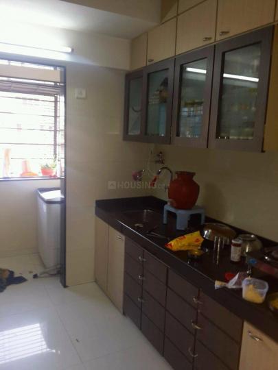 Kitchen Image of 1000 Sq.ft 2 BHK Apartment for rent in Anushakti Nagar for 48000