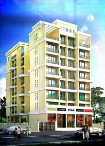Gallery Cover Image of 675 Sq.ft 1 BHK Apartment for buy in A K Hitech Patel Royal, Ulwe for 4800000