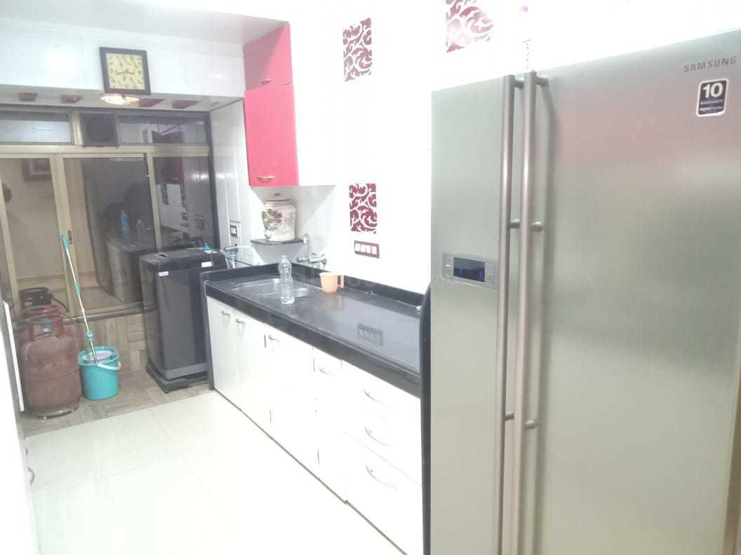 Kitchen Image of 1000 Sq.ft 2 BHK Apartment for rent in Santacruz West for 85000