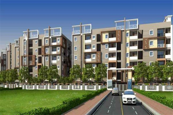 Building Image of 1391 Sq.ft 3 BHK Apartment for buy in Ramachandra Puram for 6397209