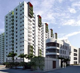 Gallery Cover Image of 1665 Sq.ft 3 BHK Apartment for buy in Ramky One Galaxia Phase II, Nallagandla for 12300000