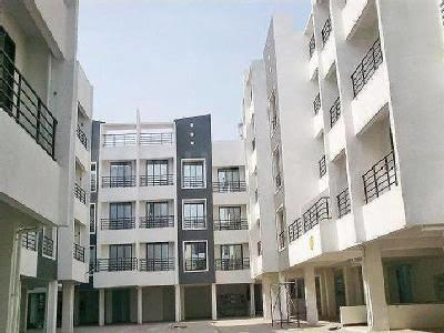 Gallery Cover Image of 616 Sq.ft 1 BHK Apartment for buy in Qualcon Greenwood Estate, Hedutane for 2650000