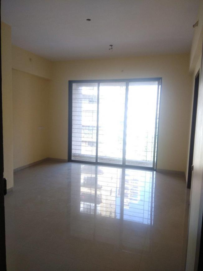 Living Room Image of 600 Sq.ft 1 BHK Apartment for rent in Kharghar for 9000