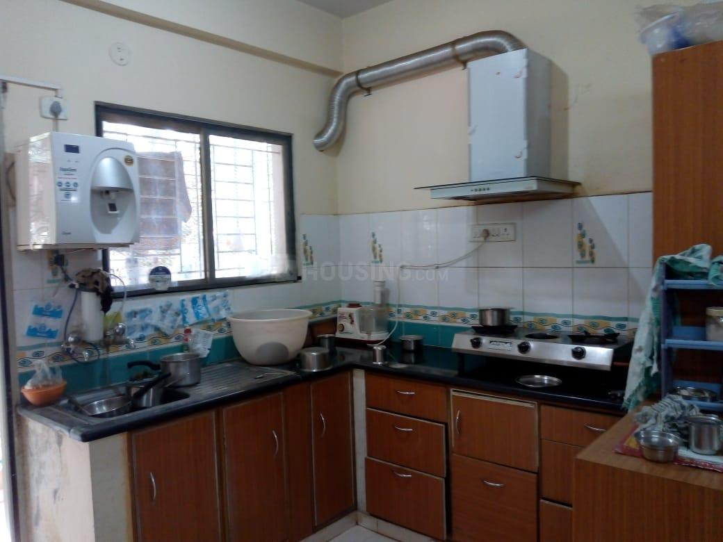 Kitchen Image of 1220 Sq.ft 2 BHK Apartment for rent in Sahakara Nagar for 16000