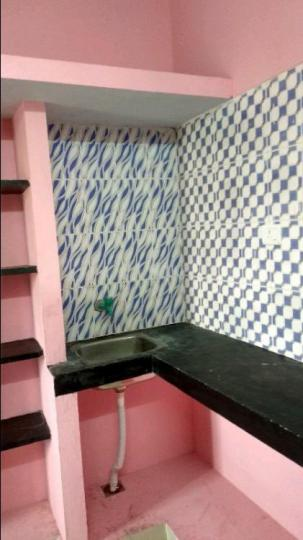 Kitchen Image of 800 Sq.ft 1 BHK Villa for rent in Mannivakkam for 5500