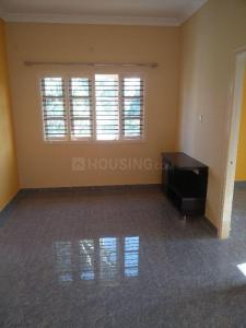 Gallery Cover Image of 650 Sq.ft 1 BHK Independent Floor for rent in Hebbal Kempapura for 9500