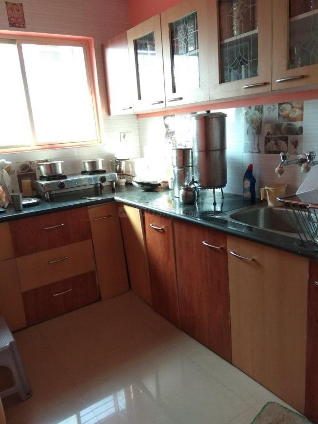 Kitchen Image of 810 Sq.ft 2 BHK Apartment for buy in Sudama Nagar for 2500000