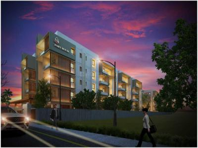 Gallery Cover Image of 1603 Sq.ft 3 BHK Apartment for buy in Thipparthi Fort House, Koti Hosahalli for 8900000