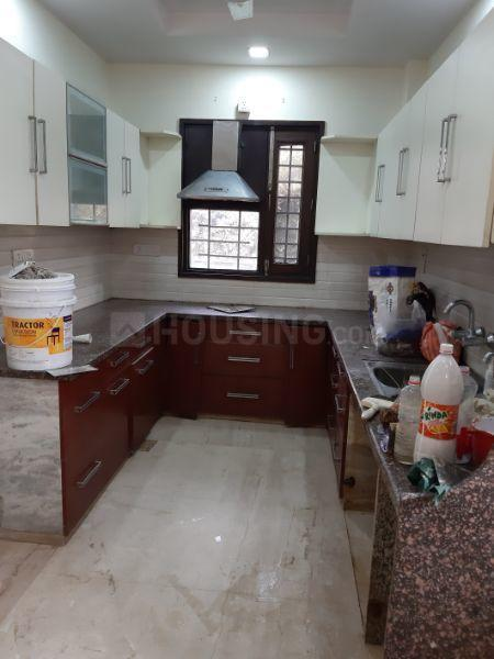 Kitchen Image of 1350 Sq.ft 3 BHK Apartment for rent in Janakpuri for 34000