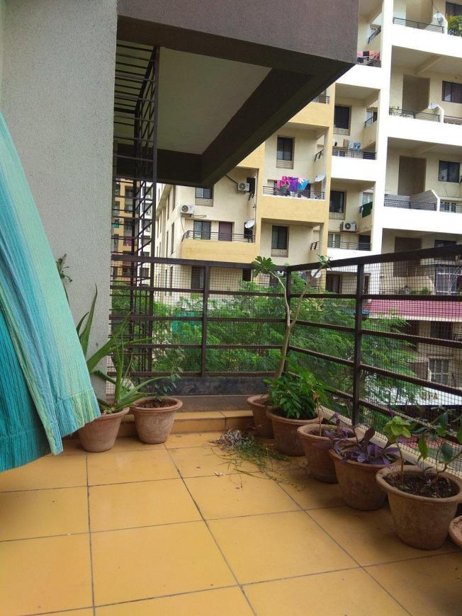 Balcony Image of 1050 Sq.ft 2 BHK Apartment for buy in Wakad for 6500000