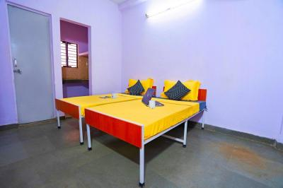 Bedroom Image of Oyo Campus Del1814 Katwaria Sarai (males Only) in Katwaria Sarai