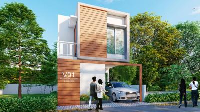Gallery Cover Image of 1270 Sq.ft 2 BHK Villa for buy in Wakad for 3999999