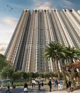 Gallery Cover Image of 744 Sq.ft 2 BHK Apartment for buy in Raymond Ten X Eden Tower, Thane West for 11200000