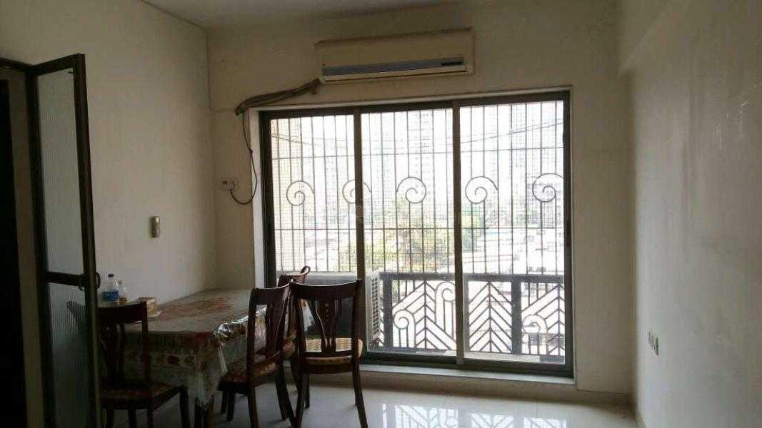 Living Room Image of 595 Sq.ft 1 BHK Apartment for rent in Kandivali East for 22000