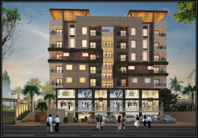 Gallery Cover Image of 1096 Sq.ft 2 BHK Apartment for buy in Bhawrasla for 4200000