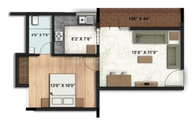Gallery Cover Image of 700 Sq.ft 1 BHK Apartment for buy in Eswar Vanamali, Kyalasanahalli for 3360000