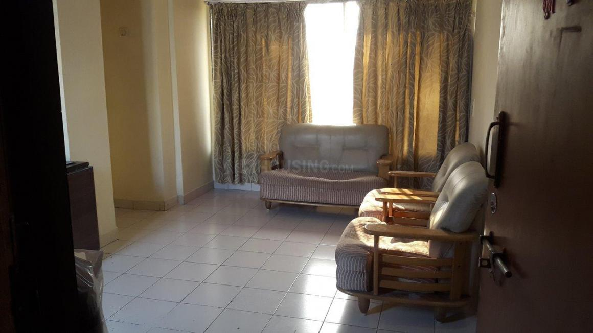 Living Room Image of 550 Sq.ft 1 BHK Apartment for rent in Ghansoli for 22000