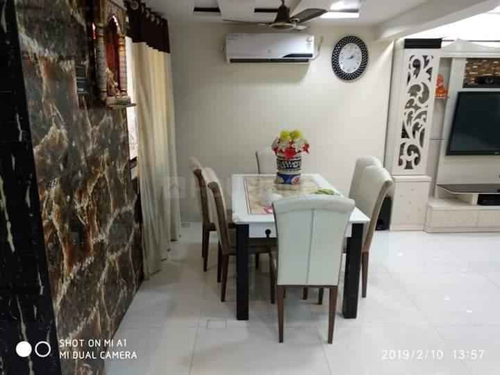 Dining Area Image of 1100 Sq.ft 2 BHK Apartment for rent in Dighe for 36000