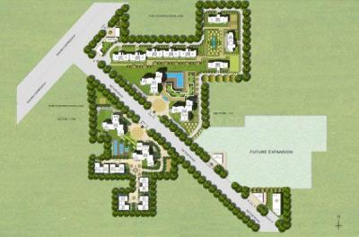 Gallery Cover Image of 2200 Sq.ft 3 BHK Apartment for buy in Puri Diplomatic Greens, Sector 110A for 17800000