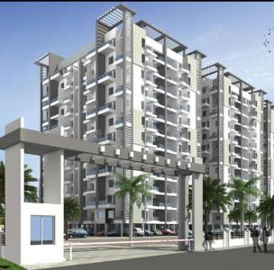 Gallery Cover Image of 608 Sq.ft 1 BHK Apartment for rent in Aksha Swapnalok, Moshi for 9500
