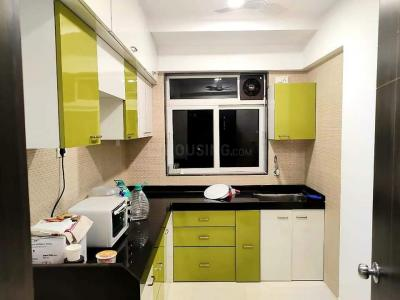 Kitchen Image of Available Single Occupancy For Female In Atul Blue Fortuna Marol in Andheri East