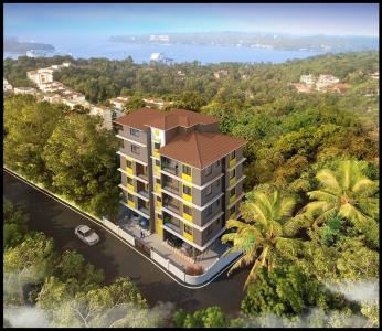 Gallery Cover Image of 1024 Sq.ft 2 BHK Apartment for buy in Alto- Betim Porvorim for 4600000