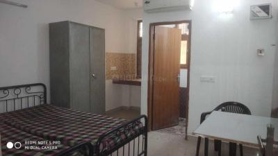 Gallery Cover Image of 500 Sq.ft 1 RK Independent Floor for rent in Said-Ul-Ajaib for 11000
