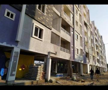 Gallery Cover Image of 1150 Sq.ft 2 BHK Apartment for buy in Hafeezpet for 5800000