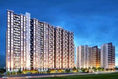Gallery Cover Image of 560 Sq.ft 1 RK Apartment for buy in Township Codename Blue Waters, Mahalunge for 3500000