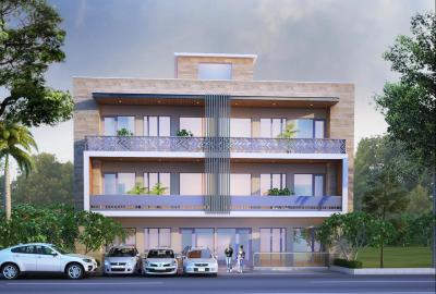 Gallery Cover Image of 1650 Sq.ft 3 BHK Apartment for buy in Lal Kuan for 4650000
