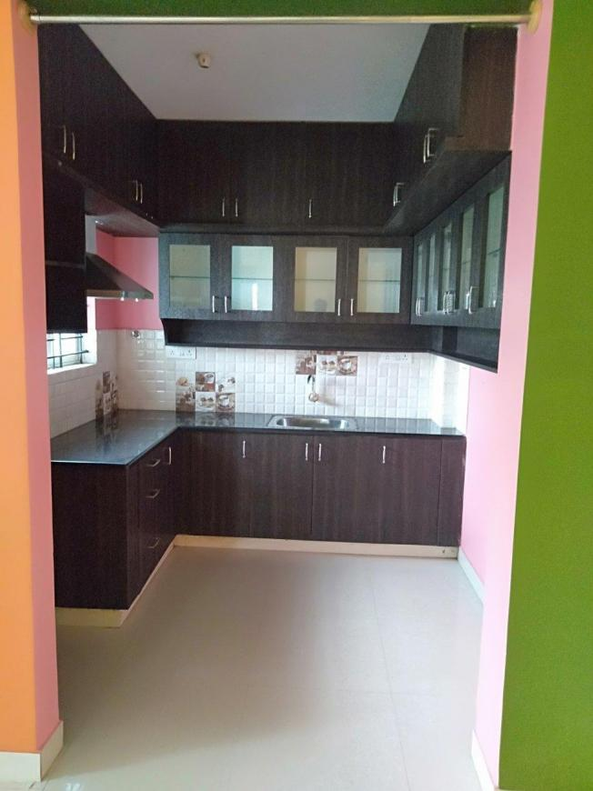 Kitchen Image of 1300 Sq.ft 3 BHK Apartment for rent in Banaswadi for 30000