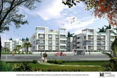 Gallery Cover Image of 1117 Sq.ft 3 BHK Apartment for buy in Blue Moon, Alandur for 7594483