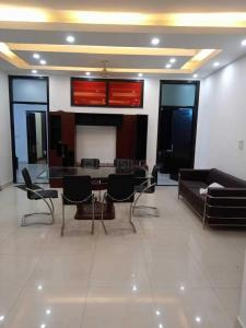 Gallery Cover Image of 1350 Sq.ft 3 BHK Independent Floor for rent in Jangpura for 70000