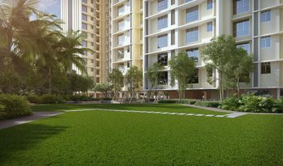Gallery Cover Image of 412 Sq.ft 1 BHK Apartment for buy in Raunak Heights, Kasarvadavali, Thane West for 4890000