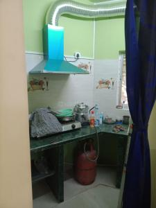 Kitchen Image of Flat For PG in Baghajatin