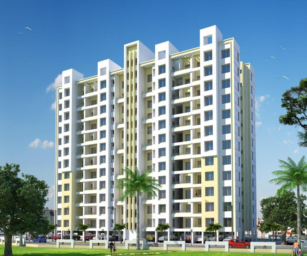 Building Image of 1120 Sq.ft 2 BHK Apartment for rent in Seawoods for 29000