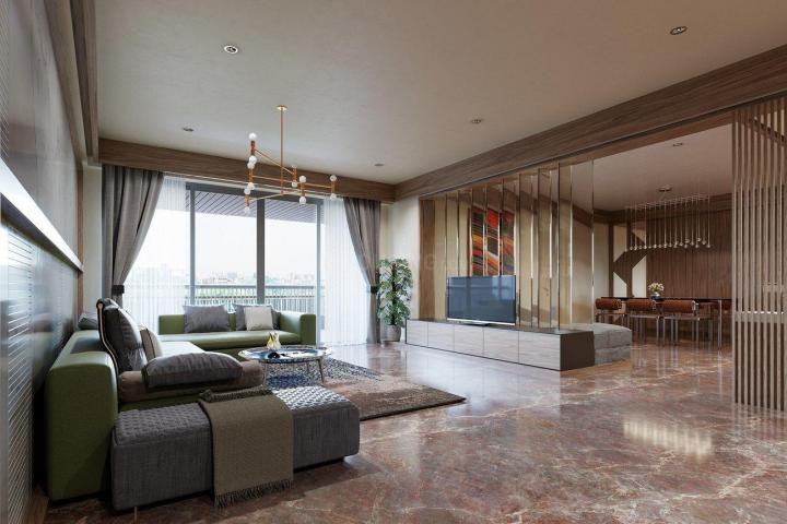 Living Room Image of 3715 Sq.ft 4 BHK Apartment for buy in The Indus, Bodakdev for 31700000