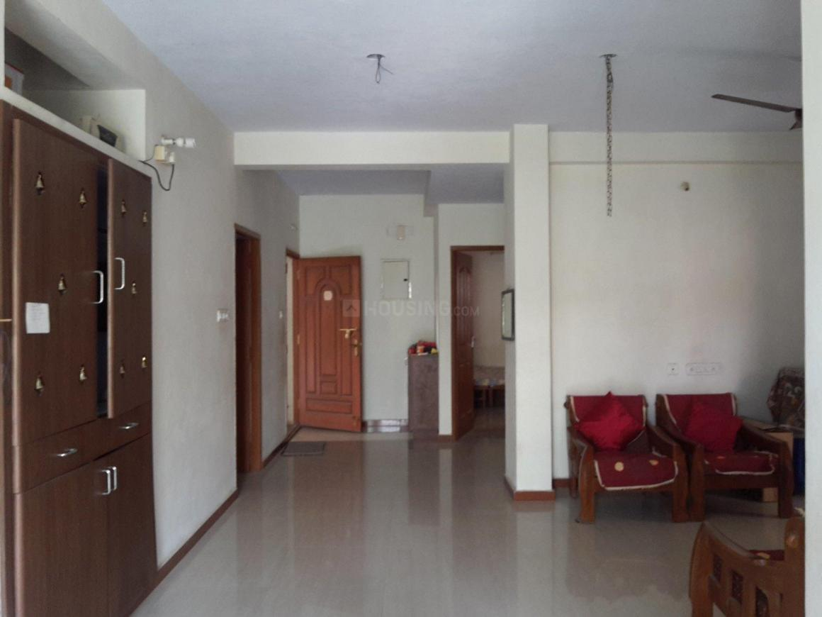 Living Room Image of 1500 Sq.ft 3 BHK Apartment for rent in Medavakkam for 18000