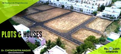 892 Sq.ft Residential Plot for Sale in Gerugambakkam, Chennai