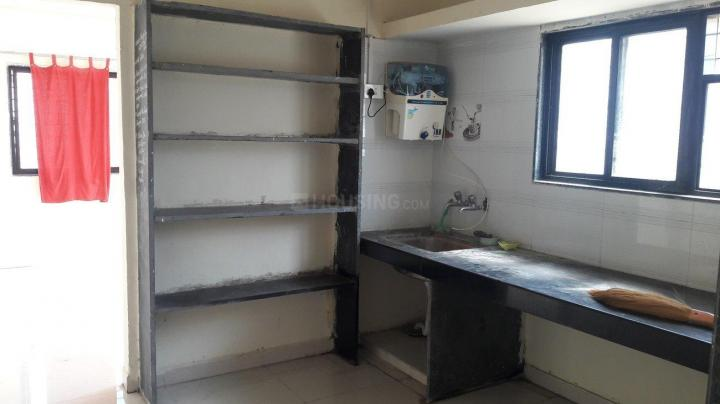 Kitchen Image of 750 Sq.ft 1 BHK Independent House for rent in Hadapsar for 7000